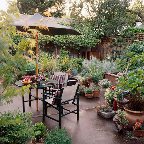 Small Space Garden Ideas: 64 Best Small Patio Garden Images On Pinterest