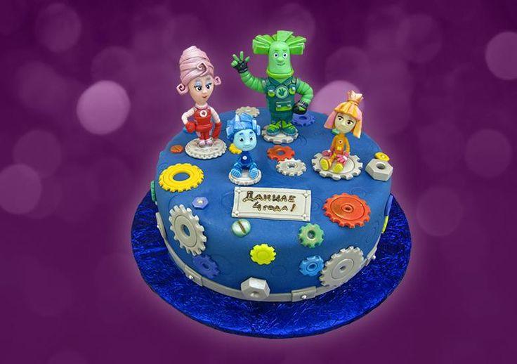 Коллекция искушений, Торт Фиксики, детский торт, торт для детей, торт на заказ #торт #детскийторт #тортдлядетей #тортдевочке #тортмальчику #купитьторт #authorcake #тортфиксики #фиксики
