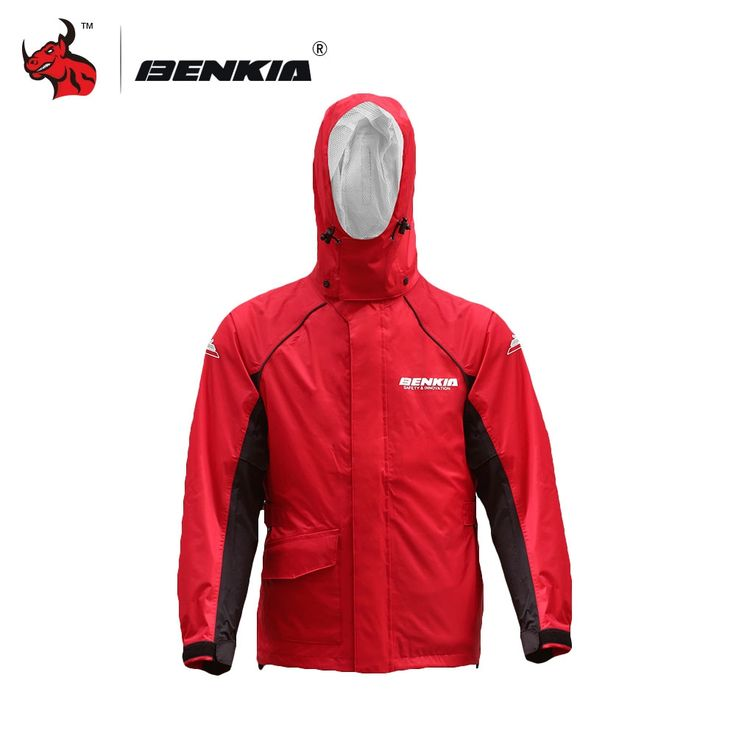 87.98$  Buy now - http://alipkk.shopchina.info/1/go.php?t=32794754053 - BENKIA Motorcycle Rain Coat Two-piece Raincoat Suit Riding Rain Gear Outdoor Men Women Camping Fishing Rain Gear Poncho  #aliexpress
