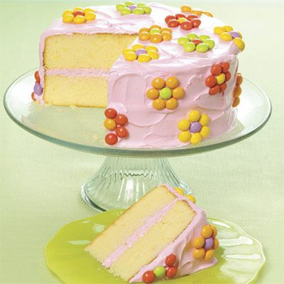 Easy cake decorating!!: Floral Cakes, Easter Cakes, Cakes Ideas, Cakes Recipes, Easter Desserts, Cakes Decor, Flowers Cakes, Spring Cakes, Birthday Cakes