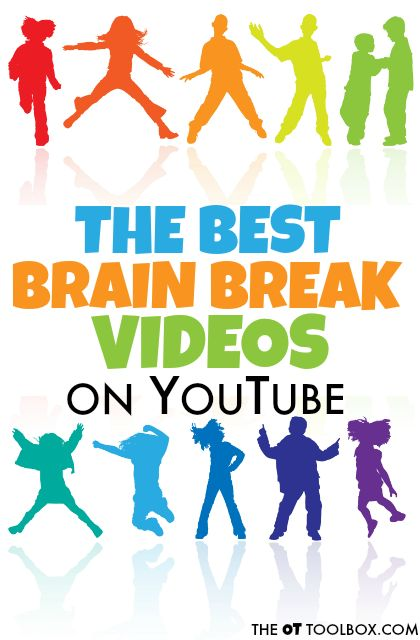 The best brain break videos on YouTube can be used for classroom brain break needs, indoor movement and gross motor skills, circle time, indoor recess, or rainy days.