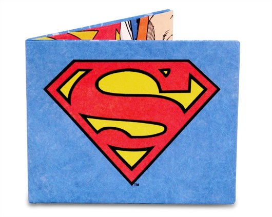 Dynomighty Superman Shield Billfold Wallet