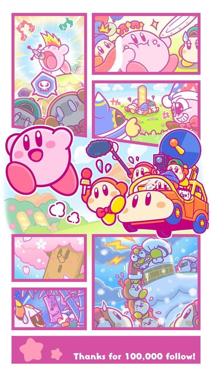 "kirbypost-generator: ""More Kirby Twitter art today"