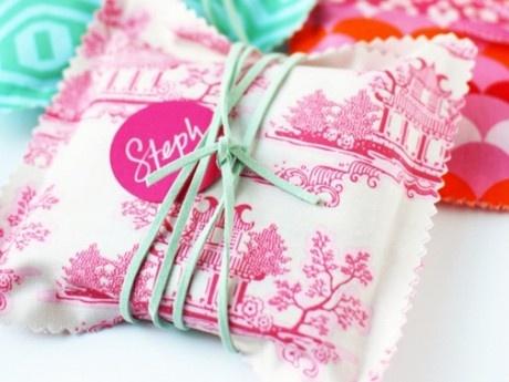 Υφασμάτινα gift bags