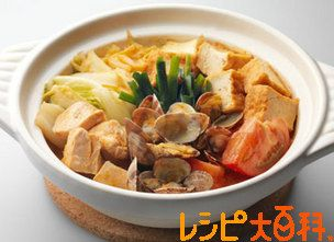 ピリ辛トマト鍋
