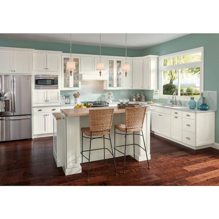Are Painted Kitchen Cabinets Durable: American Woodmark 14-9/16x14-1/2 In. Cabinet Door Sample