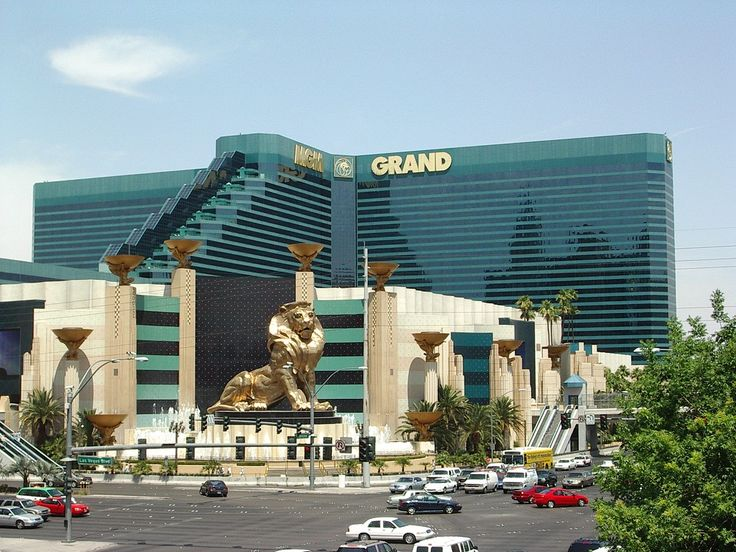 MGM Grand, Las Vegas    Stayed here in 1998