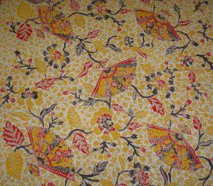 Batik Lasem Sekar Kipas Pastel SBL-P19