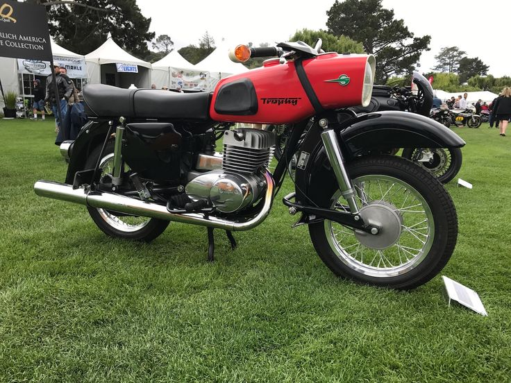 1968 MZ ES 250 Trophy Quail Motorcycle Gathering 2017