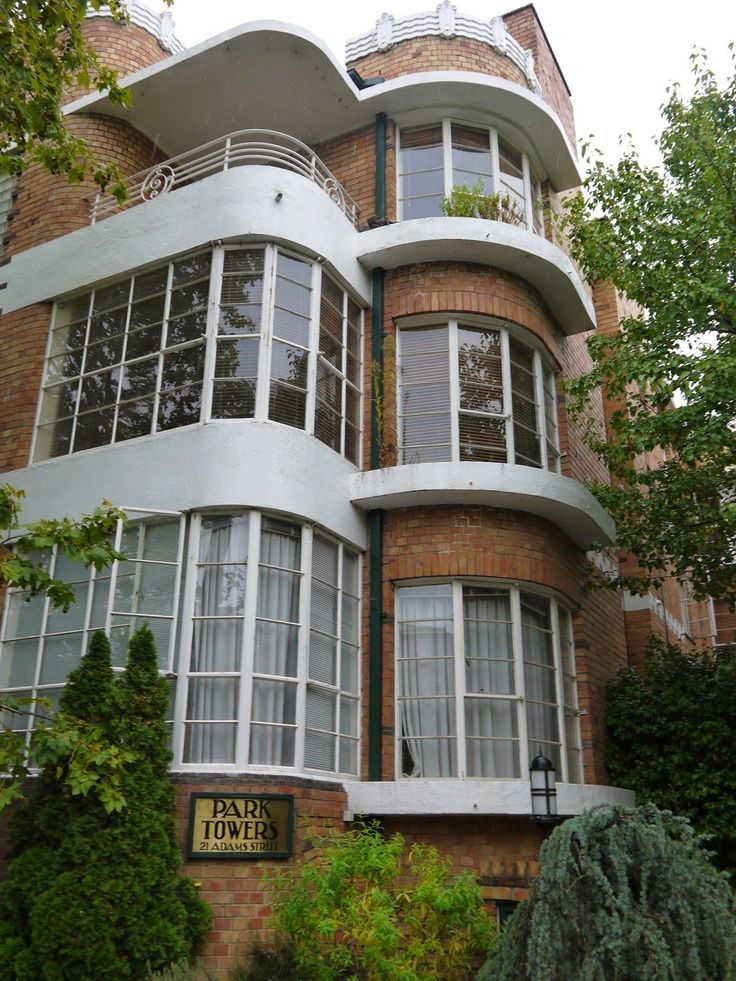 Arthur W. Plaisted was a prolific architect during the inter-war years, designing residential properties, shops, offices, garages and churches in a variety of styles. Park Towers, built in 1938, a three storey block of 18 apartments in Adams Street, South Yarra, Melbourne, is one of his most significant works - Adrian Yekkes: Australian Art Deco - treasures in Melbourne's suburbs
