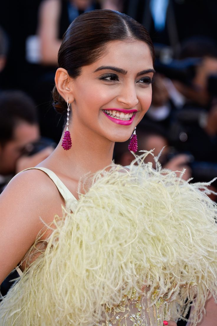 """Sonam Kapoor attends the Premiere of """"Inside Out"""" during the 68th annual Cannes Film Festival on May 18, 2015 in Cannes, France"""