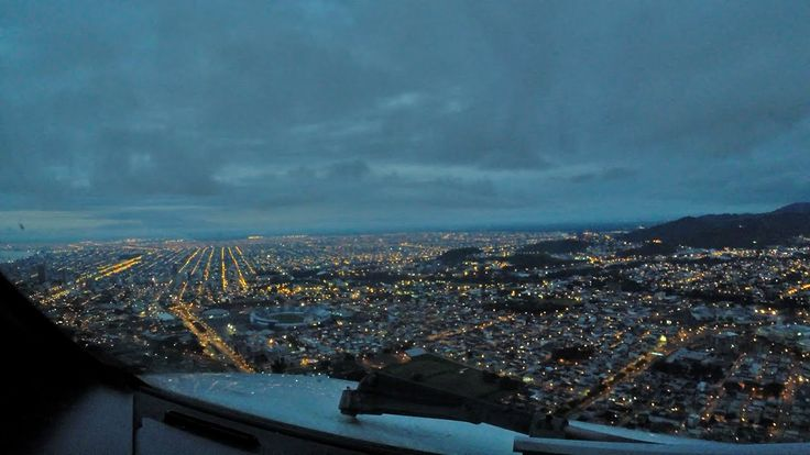 PilotCAM ATR Dawn out of Guayaquil