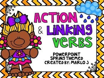 Here is a great way to review action and linking verbs through a powerpoint! This is great for a whole group lesson, using whiteboards so you can quickly see who has mastered this standard and who needs more practice. This product includes: -- Directions, I CAN Statement -- Review of what action and linking verbs are and examples -- 14 practice sentences with the answers following -- 6 question exit ticket that can be done on a whiteboard, sheet of paper or sticky note.