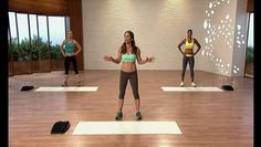 This is workout 1 from Jillian Beginner Shred program.