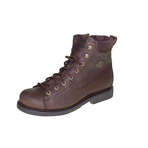 HARLEY DAVIDSON Men - Boots AARON - brown, http://www.amazon.it/dp/B00M8VP3P6/ref=cm_sw_r_pi_awdl_V3ruxbDSJE7NR
