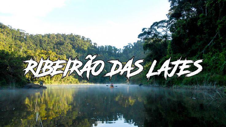 Ribeirão das Lajes - Pesca com caiaques - Serra do Piloto