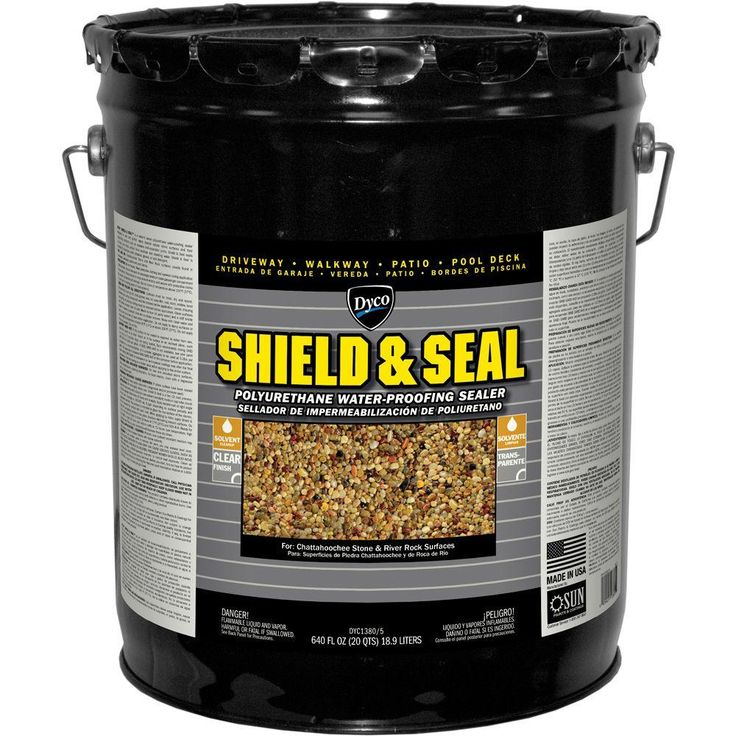 Dyco Paints SHIELD & SEAL 1 gal. 1380 Clear Polyurethane