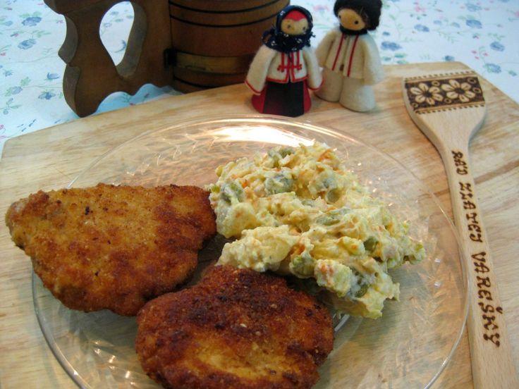 Slovak Recipes: Pork Schnitzel (Vyprážaný Rezeň)