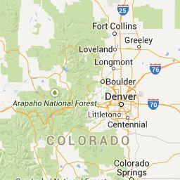 Colorado Bicycle & Byways Map