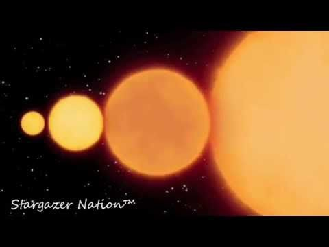Planets And Stars - Size Differences - Really Small To Really BIG!!