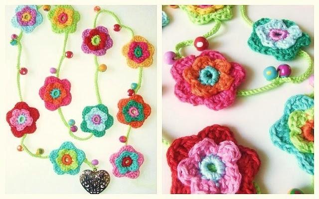 Crochet flower garlandCrochet Flowers, Gehaakte Bloemenslinger, Kids Room, Flower Garlands, Petite Fee, Flower Power, Crochet Garlands, Crafts, Beads Garlands