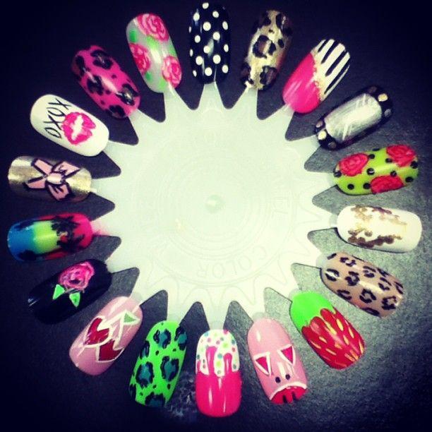 Betsey inspired nail art #nails