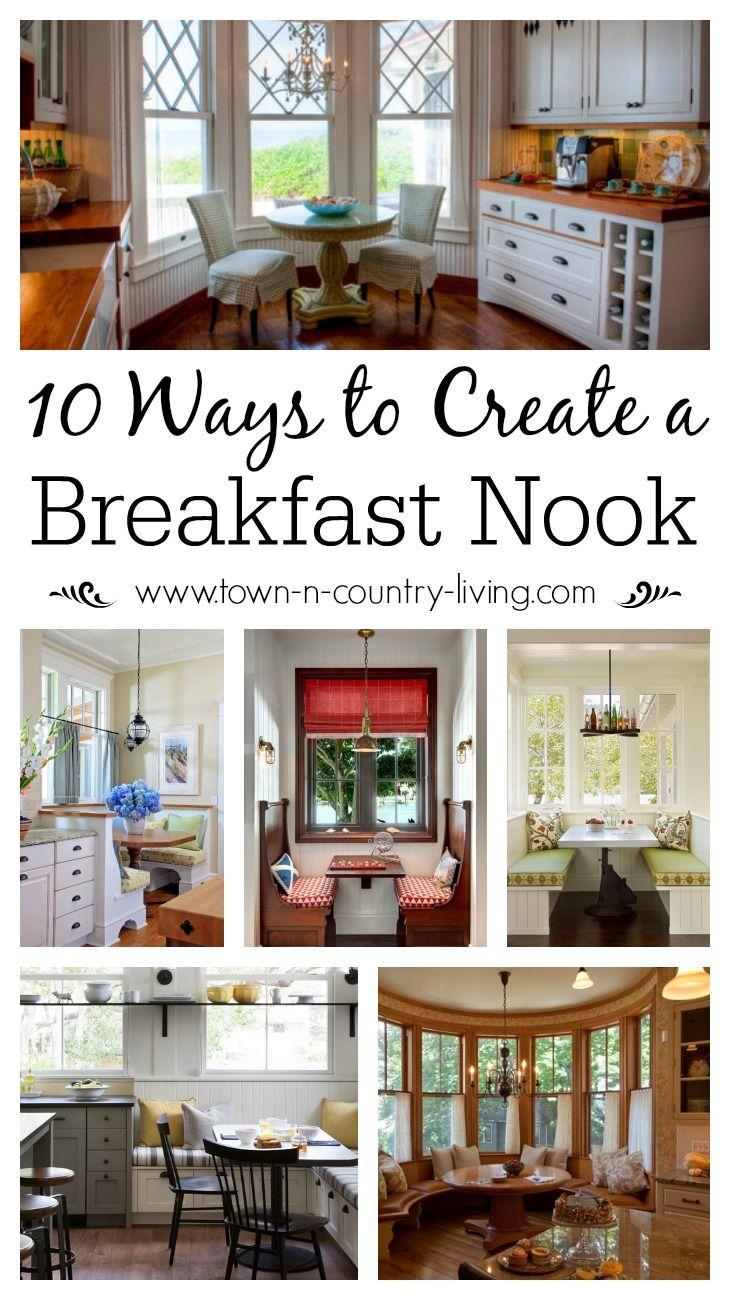 Best 10 Charming Breakfast Nook Ideas Kitchen Dining Rooms 400 x 300