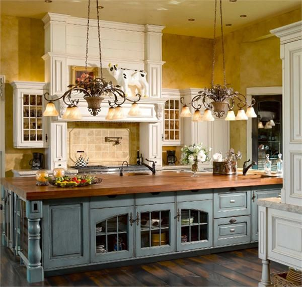 Kitchens  Pinterest  Country Kitchens, Country and Kitchens