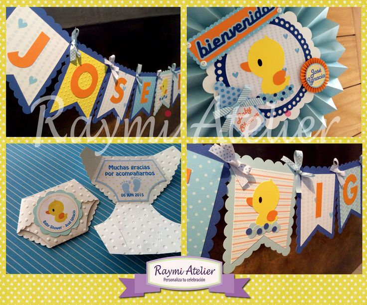 Baby Shower - rubber ducky