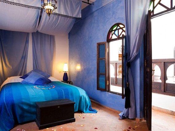 Plaid couvre lit couverture fait main pour par Sheherazadesign