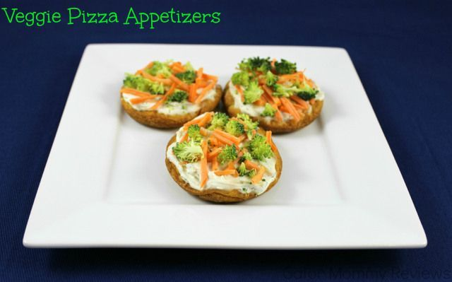 Veggie Pizza Appetizers Recipe - Sugar, Spice and Family Life