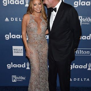 海外セレブニュース&ファッションスナップ: 【マライア・キャリー】美しくシースルードレスを着こなし大富豪の婚約者とイベントに登場!