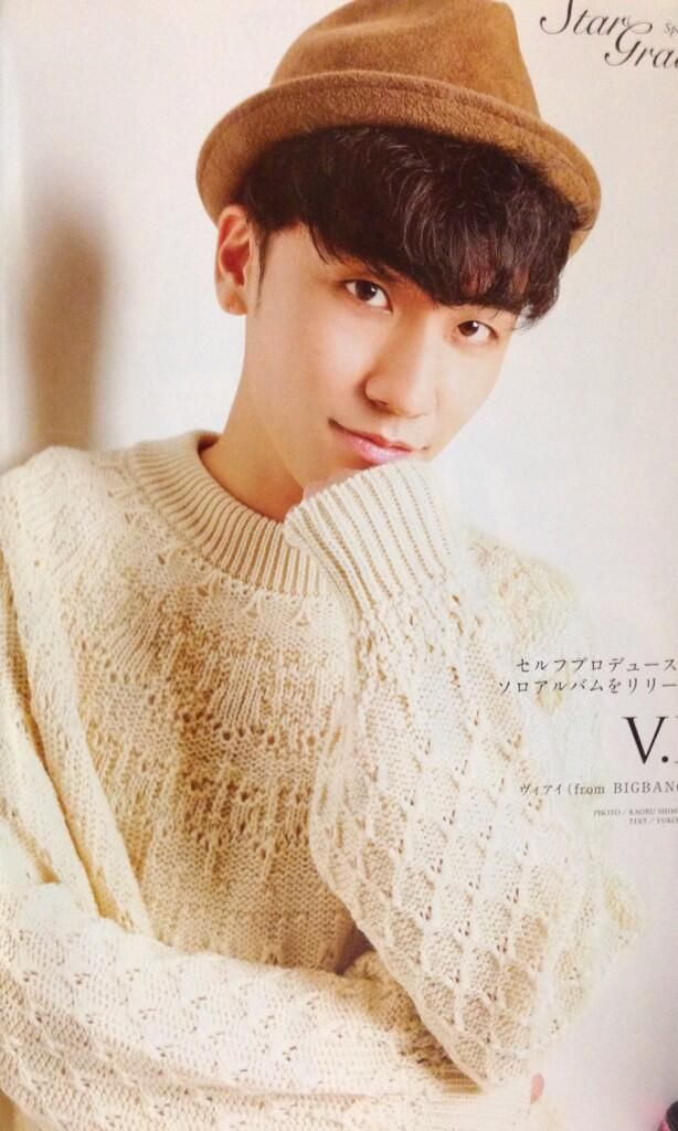 "Seungri on Japanese Magazine ""Cancam and Haru Hana Vol. 2"":"