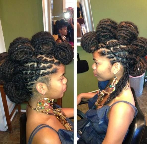 Original Loc Hawk Dbc Natural Hairstyles To Try Natural Hair