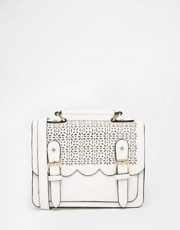 SHOULDER BAG --------------------------- ASOS Mini Scallop Satchel Bag