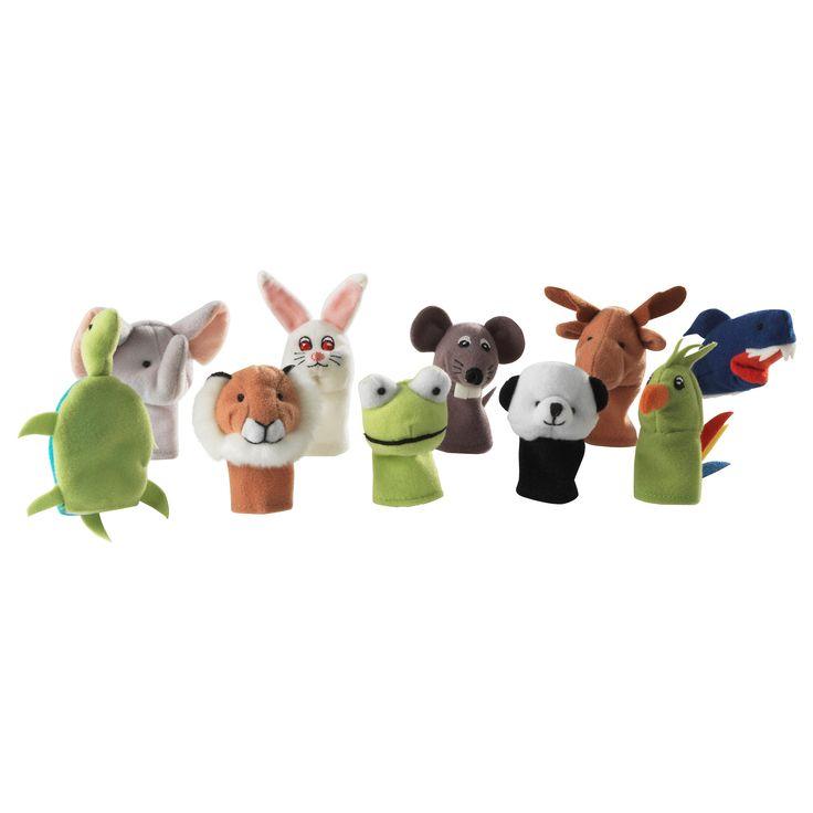 TITTA DJUR Finger puppet - IKEA