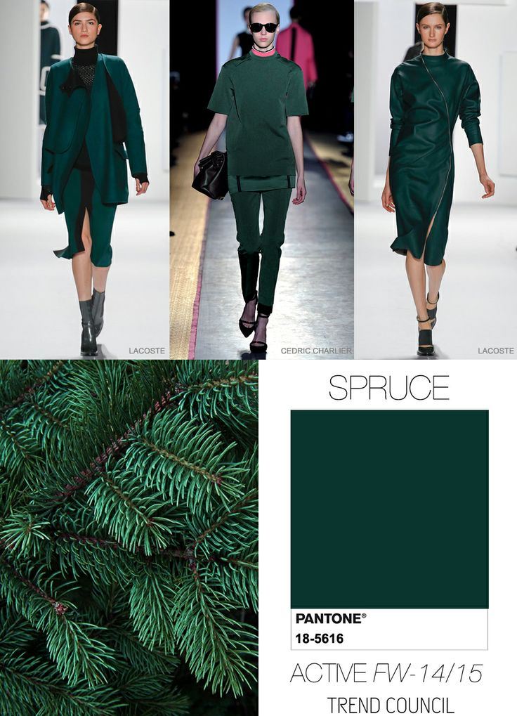 2014 color.  Accessorize with orange-red, tan or other complementary colors.