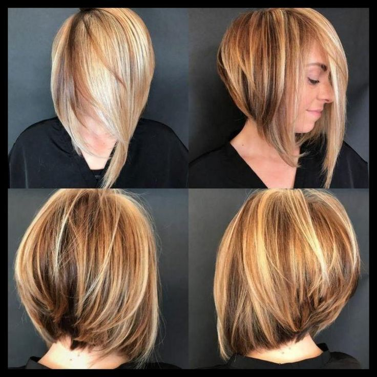 Haarstyling-Trends-2019-Bob-Frisuren-abgestufter ...