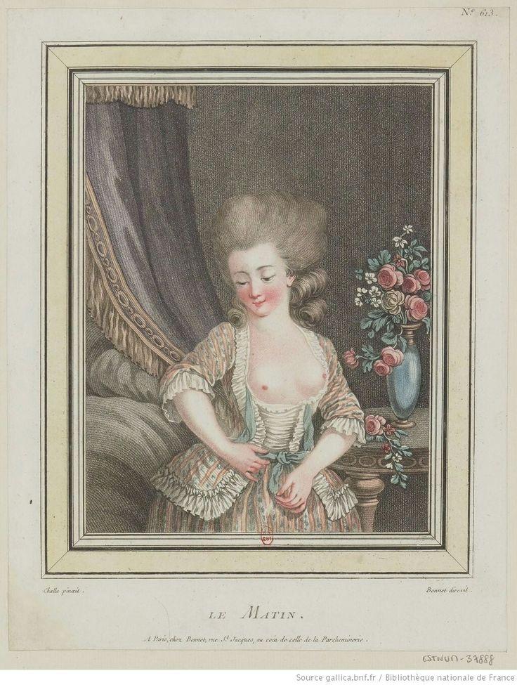 Titre:Le Matin. : [estampe] / Challe pinxit. ; Bonnet direxit. Auteur:Bonnet, Louis-Marin (1743-1793). Graveur Auteur:Challes, Charles-Michel-Ange (1718-1778). Peintre du modèle Date d'édition:17..