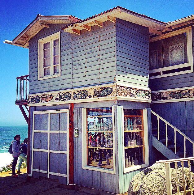 Pablo Neruda's house. Isla Negra. Chile