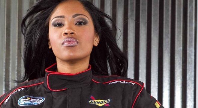 Little Known Black History Fact:  Tia Norfleet is the first and only black woman racecar driver to be licensed by NASCAR.