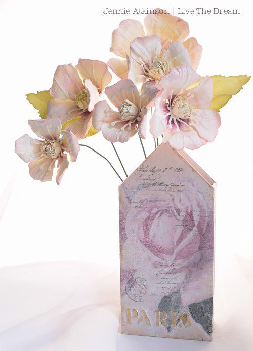 Calico Craft Parts: House Kit Vase by Jennie