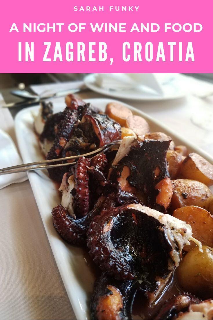 A Night Of Croatian Cuisine Croatian Cuisine Foodie Travel Food