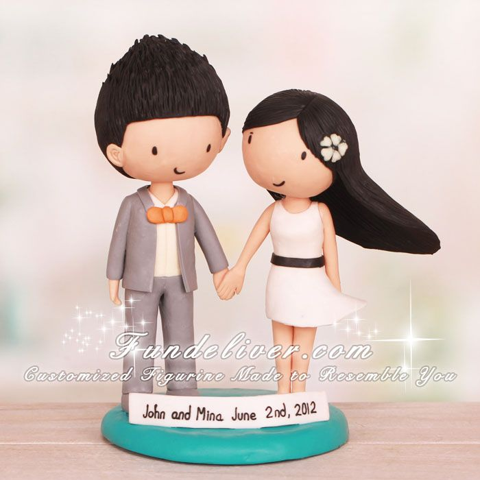 Cartoon Wedding Cake Toppers