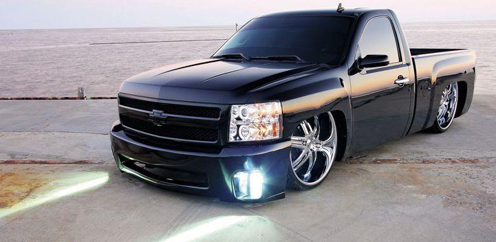 2008 Chevy Silverado - 26 Inch Rims - Truckin' Magazine