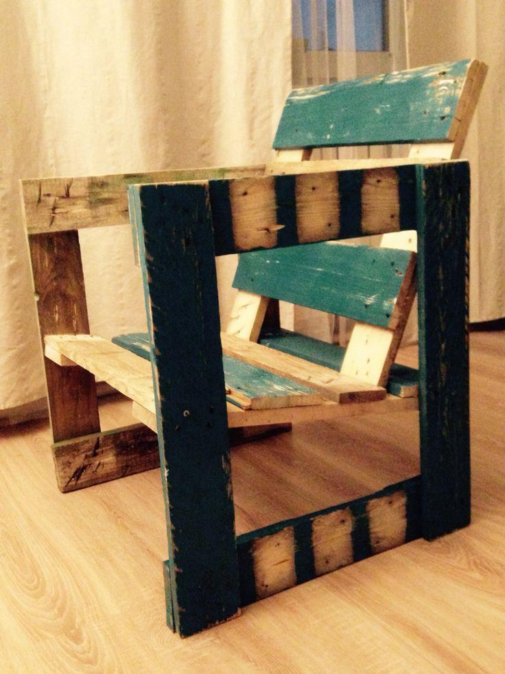 Krzesło z palety by Księciu Litewski Workshop