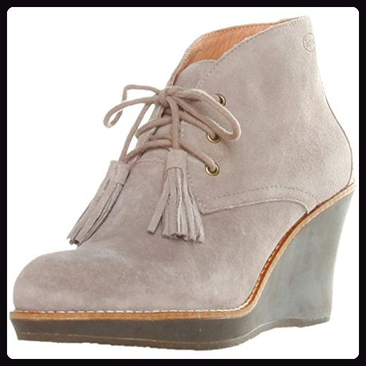 Dr. Scholl ENIS F244131062 Damen Schuhe Stiefeletten, Halbstiefel, Keil Pumps, Wedges, EU38 UK5, Taupe - Damen pumps (*Partner-Link)