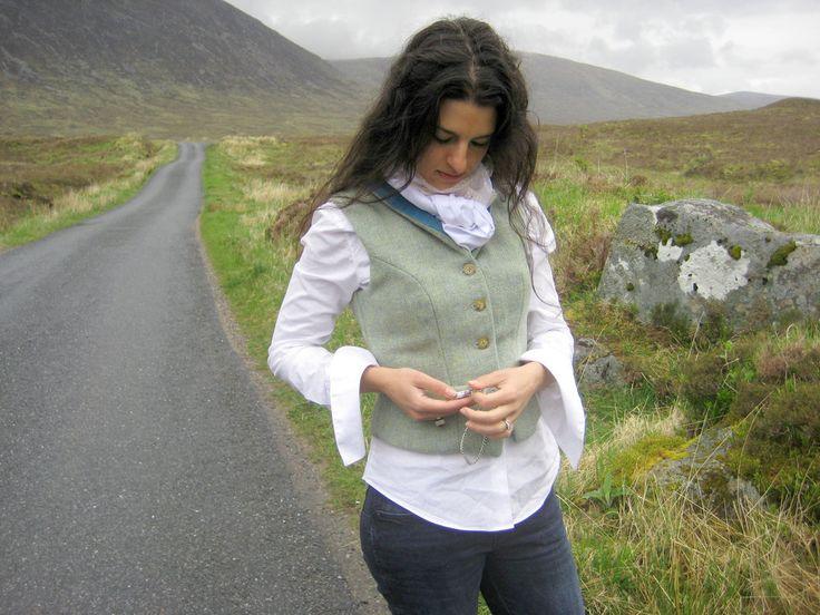 Shiel Waistcoat. Handmade in the Scottish Highlands. www.lornagillies.com Atmospheric, haunting, dreamer inspiration. Outlander. Glencoe