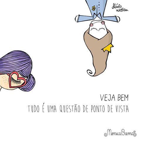 """Mônica Crema on Instagram: """"Ilustração feita à 4 mãos com o querido Flávio do @lifeonadraw ❤️"""""""