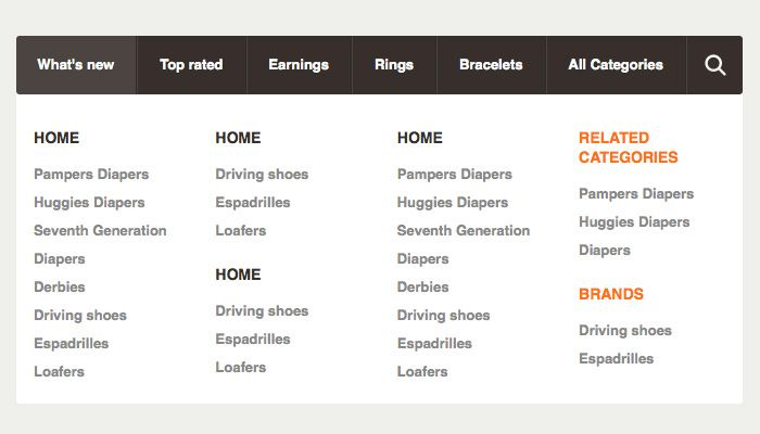Free jQuery and CSS3 Dropdown Menus for Websites